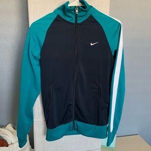 Nike Jackets & Coats - Nike NWOT turquoise navy track jacket